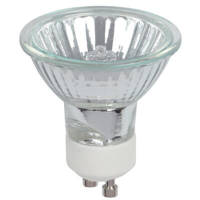 25-watt Halogen MR16 Clear Lens GU10 Base Flood Light Bulb