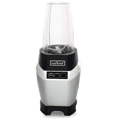 24 oz. Single Speed Black Digital Countertop Power Pro Blender with Pulse Blend