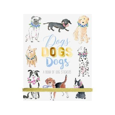 Fun Sticker Book, Dogs