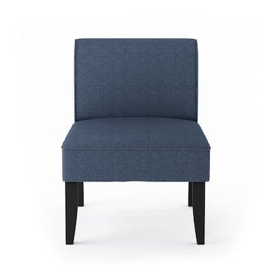 Belfort Denim Polyester Modern Accent Chair (Set of 2)