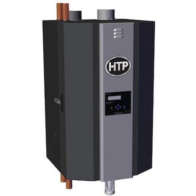 Elite FT High Efficiency Natural Gas Condensing Heating Boiler with 155,000 BTU Input