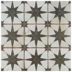 Harmonia Kings Star Nero 13 in. x 13 in. Ceramic Floor and Wall Tile (12.19 sq. ft./Case)