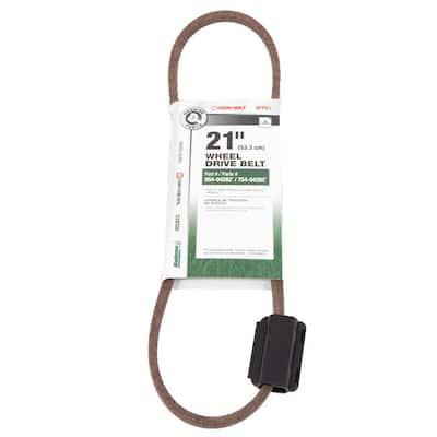 Original Equipment Transmission Drive Belt for Select 21 in. Rear Wheel Drive Lawn Mowers OE# 954-04282