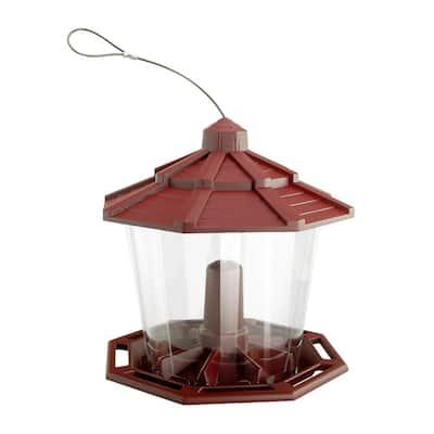 Recycled Ecozebo Red Bird Feeder