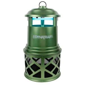 UV 6-Watt 1-Acre Green Insect and Mosquito Trap Bundle with 2 Attractants and Replacement Bulb