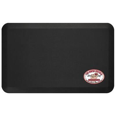 Busted Knuckle Eco-Pro 3/4 in. T x 20 in. W x 32 in. L Black Polyurethane Foam Heavy Duty Garage Floor Mat