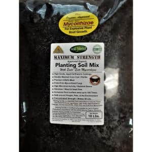 Premium Planting Soil Mix Special Blend with Perlite, Worm Castings, Coconut Coir and Endo and Ecto Mycorrhizae