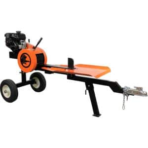 22-Ton 4.5 HP 177 cc Gas Horizontal Kinetic Log Splitter with Kohler Command Pro Engine