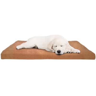 Jumbo Clay Orthopedic Super Foam Pet Bed