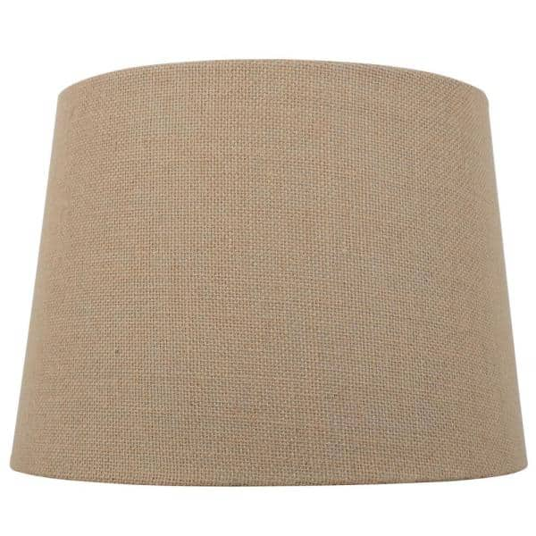 H Burlap Round Table Lamp Shade Ds18000, Burlap Lamp Shades For Table Lamps
