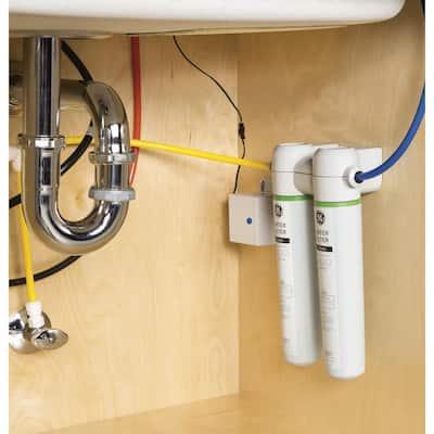 Under Sink Dual Flow Water Filtration System