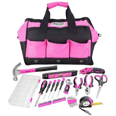Home and Office Essentials Tool Set with Tool Bag (43-Piece)