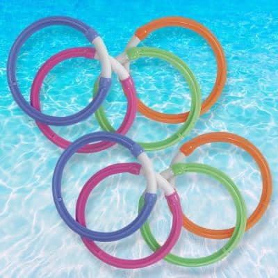 Dive Rings for Swimming Pools (2-Pack)