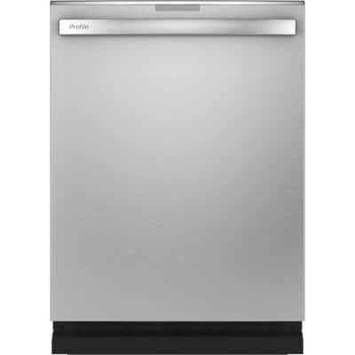 Profile 24 in. Stainless Steel Top Control Smart Built-In Tall Tub Dishwasher with 3rd Rack and Ultra Quiet 39 dBA