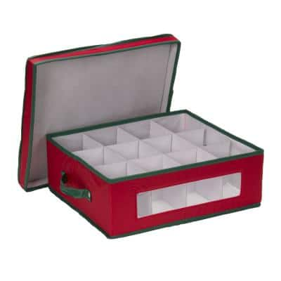 12-Qt. Cup Storage Box in Red