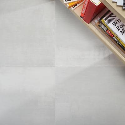 Hempstead Pearl 23.62 in. x 23.62 in. Matte Porcelain Floor and Wall Tile (11.62 sq. ft./Case)
