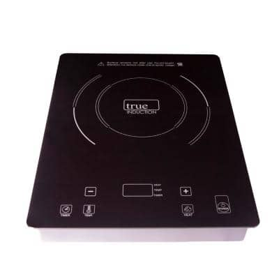 11 in. Glass Induction Cooktop in Black with 1 Induction Element