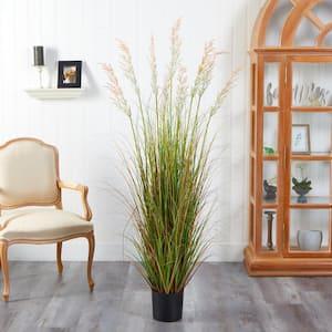 5.5 ft. Plume Grass Artificial Plant