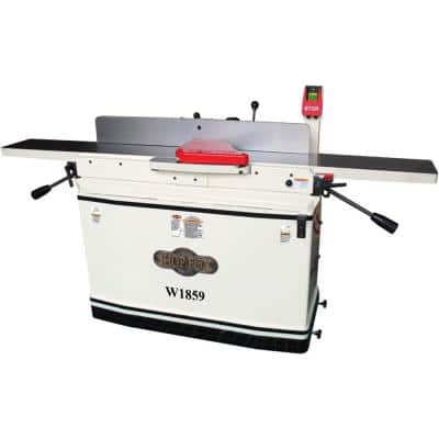 8 in. x 76 in. 230-Volt 3 HP Parallelogram Jointer with Mobile Base