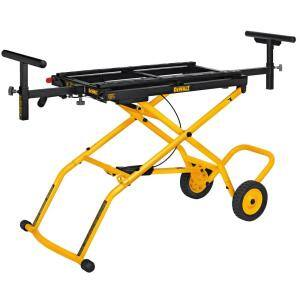 32-1/2 in. x 60 in. Rolling Miter Saw Stand with 300 lbs. Capacity