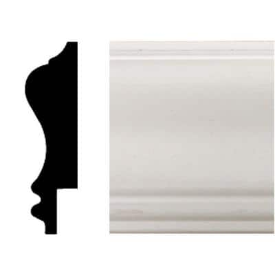 3/4 in. x 2-3/4 in. x 8 ft. MDF Wainscot Chair Rail Moulding