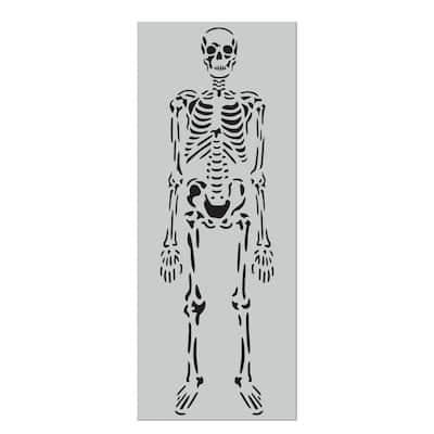 6 ft. Skeleton Stencil