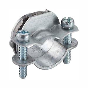 3/8 in. Non-Metallic Twin Screw Clamp Connectors (100-Pack)