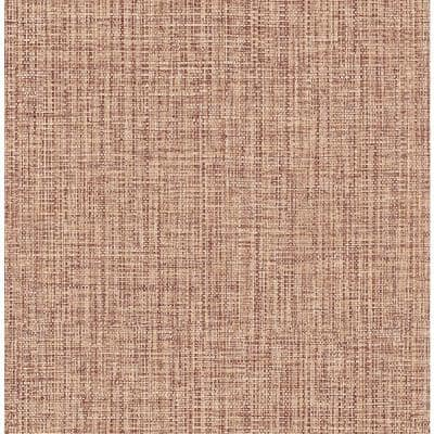 Giorgio Red Distressed Texture Paper Strippable Roll (Covers 56.4 sq. ft.)