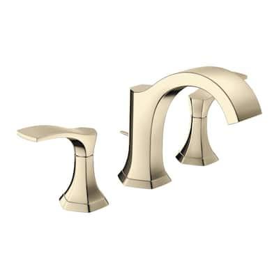 Locarno 8 in. Widespread 2-Handle Bathroom Faucet in Polished Nickel