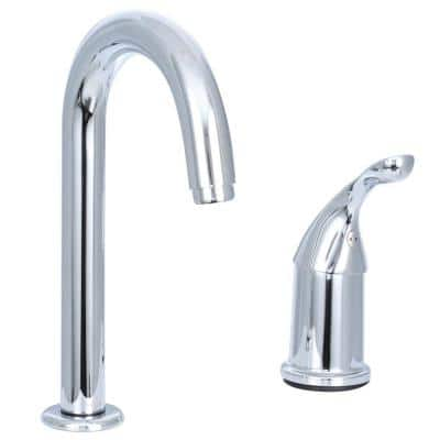 Classic Single-Handle Bar Faucet in Chrome