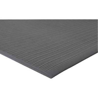 Air Step Black 36 in. x 60 in. Anti-Fatigue Mat