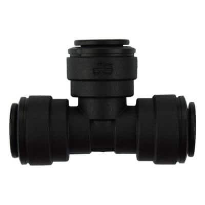 3/8 in. Push-to-Connect Tee Fitting (10-Pack)