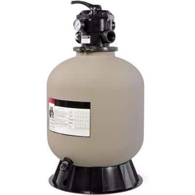 19 in. 1.93 sq. ft. Filtration Area Swimming Pool Sand Filter with 7-Way Valve and