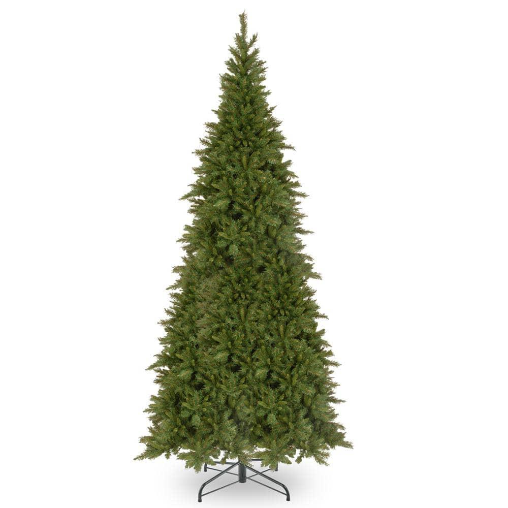 National Tree Company 16 Ft Tiffany Fir Slim Artificial Christmas Tree Tfslh 160 The Home Depot