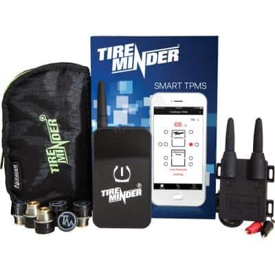 Smart TPMS with 4 Transmitters