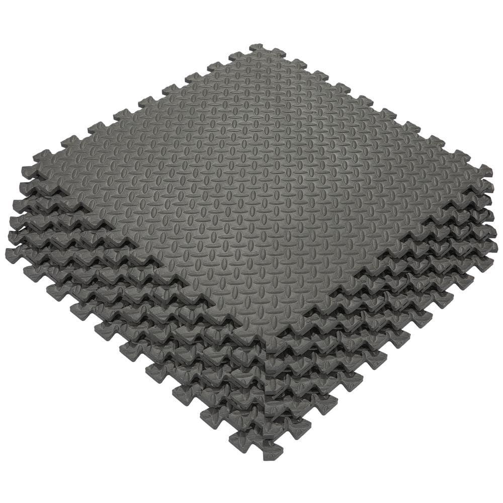 Ottomanson Multi Purpose Black 24 In X