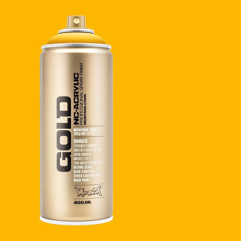 11 oz. GOLD Spray Paint, Yellow Cab