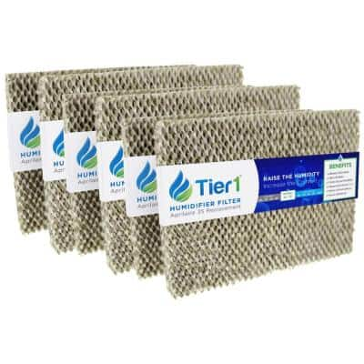 Replacement for Aprilaire Water Panel 35, fits Models 350, 360, 560, 560A, 568, 600 Humidifier Filter (6-Pack)