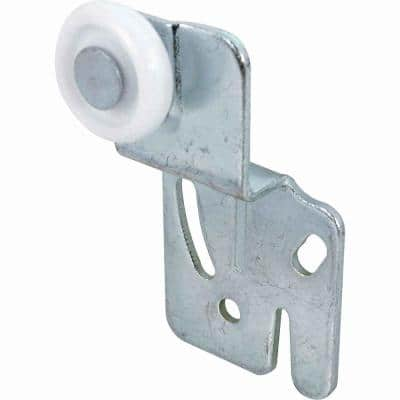 Closet Door Roller with 1/2 in. Offset and 7/8 in. Nylon Wheel (2-pack)