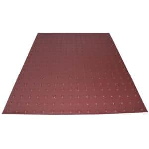 RampUp 36 in. x 4 ft. Colonial Red ADA Warning Detectable Tile