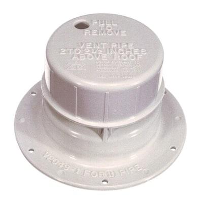 Plastic Mobile/RV Home Plumbing Vent Cap