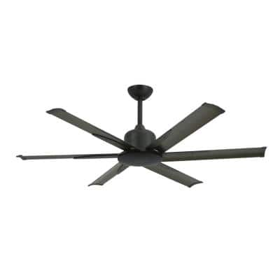 Titan II 52 in. Indoor/Outdoor Oil Rubbed Bronze Ceiling Fan with Remote Control