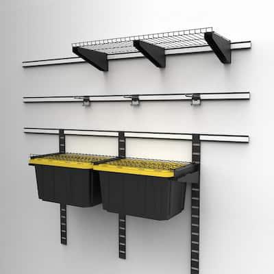 24 in. Garage Wall Track Vertical Rail
