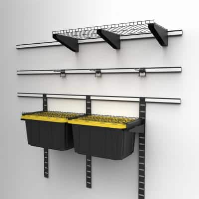 Garage Wall Track Tote Storage Kit (6-Pieces)