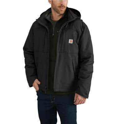 Men's Small Black Cotton/Polyester/Spandex Full Swing Cryder Jacket