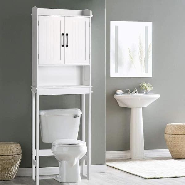 The Toilet Storage Cabinet Organizer, Bathroom Toilet Storage