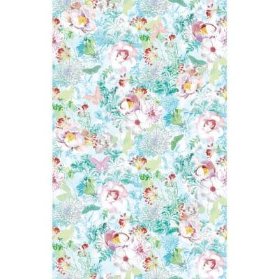 Floral Wall Adhesive Film (Set of 2)