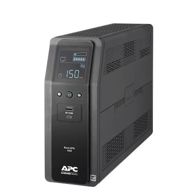 Back-UPS Pro 1500VA 10-Outlet and 2-USB Battery Backup