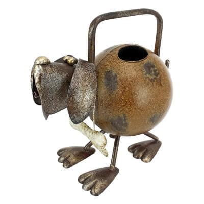 Back to the Farm 56 oz. Metal Dog Watering Can