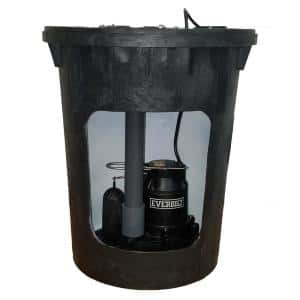 3/10 HP Pre-Plumbed Sump Pump System